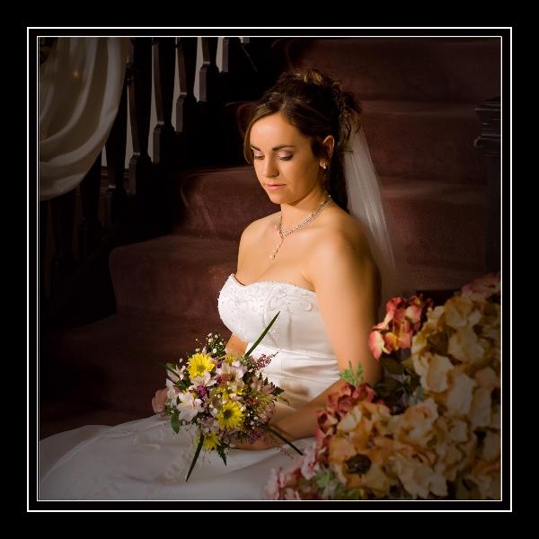 bride-alone